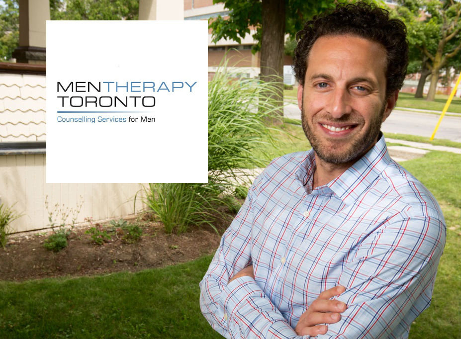 Eric Pierni, Therapist & Founder Men Therapy Toronto